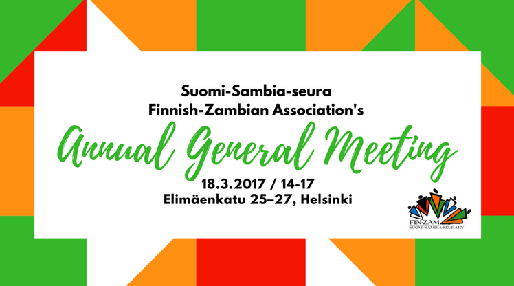 Annual General Meeting 18.3.2017