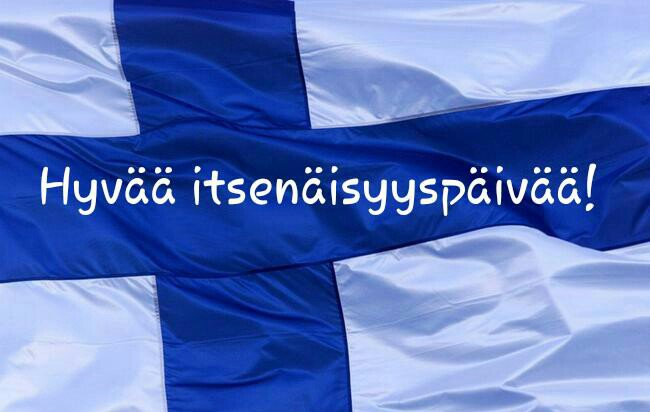 Happy Independence Day Finland!